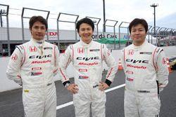 #97 Modulo CIVIC TCRの伊藤真一、中野信治、海老澤紳一