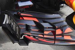 Detail Frontflügel von Daniel Riccardo, Red Bull Racing RB13