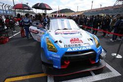優勝した#1スリーボンド日産自動車大学校GT-R