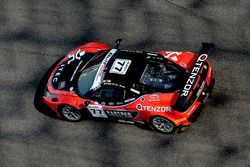 #77 Kessel Racing Ferrari 458 GT3: Jacques Duyver, Marco Zanuttini, David Perel