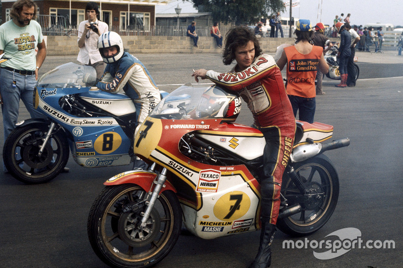 1977 - Barry Sheene, Suzuki
