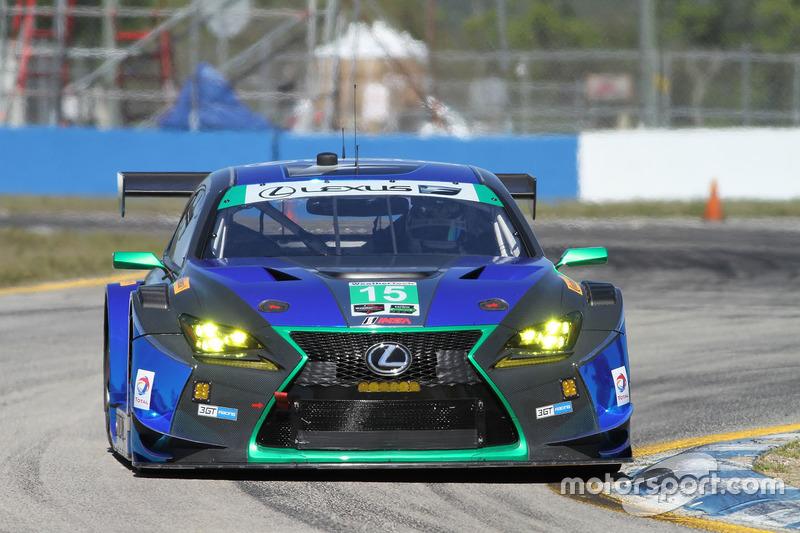 4. GTD: #15 3GT Racing, Lexus RCF GT3