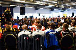 BTCC Drivers Press Conference