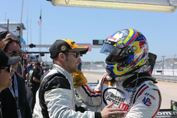 PC pole winner Gustavo Yacaman, BAR1 Motorsports and Marc Drumwright, BAR1 Motorsports