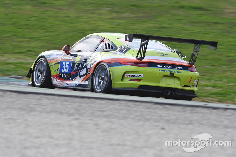 #35 B2F compétition, Porsche 991 Cup: Benoit Fretin, Bruno Fretin, Michel Mitieus