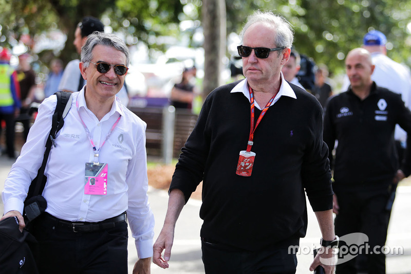 Patrice Ratti, Renault, mit Renault-Präsident Jerome Stoll