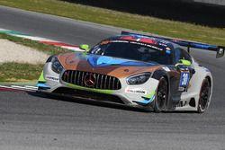 #30 Ram Racing, Mercedes AMG GT3: Tom Onslow-Cole, Remon Leonard Vos, Kevin Veltman
