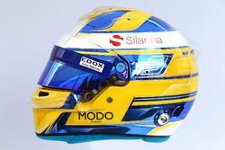 The helmet of Marcus Ericsson, Sauber C36