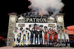 Podium: GTLM Winner: #3 Corvette Racing Chevrolet Corvette C7.R: Antonio Garcia, Jan Magnussen, Mike