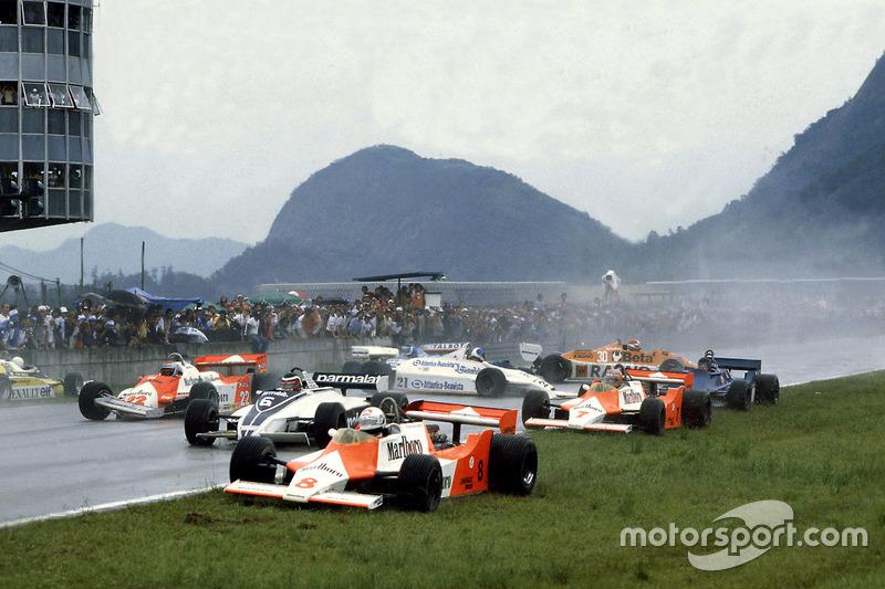 Platz 3: Hector Rebaque - 1981