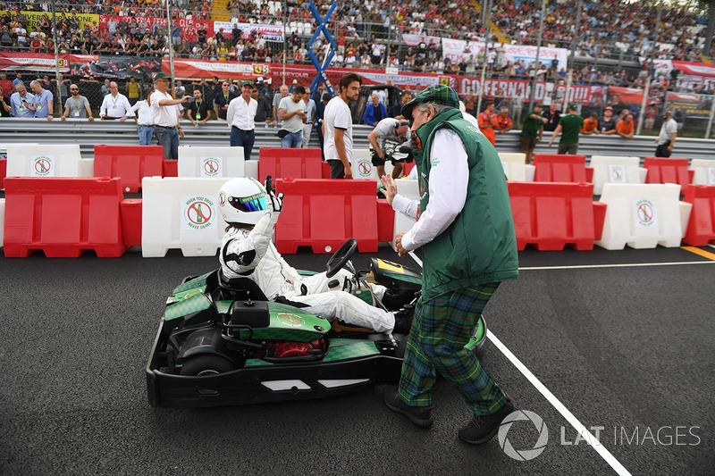 Karting y Sir Jackie Stewart