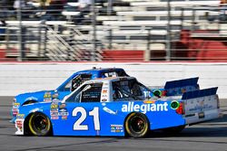 Johnny Sauter, GMS Racing Chevrolet and Chase Elliott, GMS Racing Chevrolet