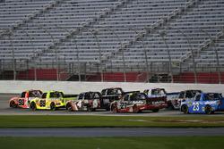 Grant Enfinger, ThorSport Racing Toyota e Matt Crafton, ThorSport Racing Toyota
