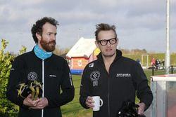 Initiatiefnemer Bernhard van Oranje en een andere deelnemer tijdens De Hollandse 100