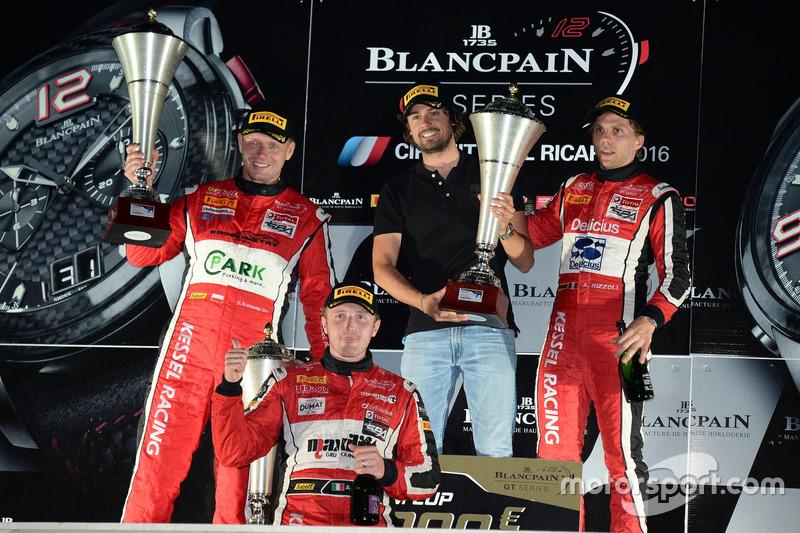 Alessandro Bonacini, Michal Broniszewski, Andrea Rizzoli, Ronnie Kessel