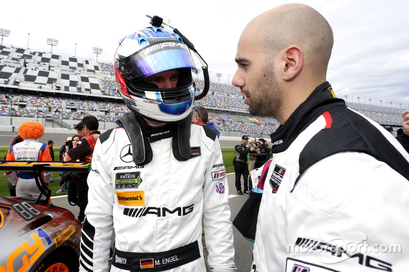 Maro Engel, SunEnergy1 Racing con Adam Christodoulou,  Riley Motorsports