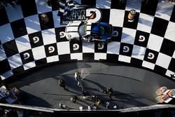 Podium GS: 1. Cameron Cassels, Trent Hindman, Bodymotion Racing; 2. Marc Miller, Till Bechtolsheimer