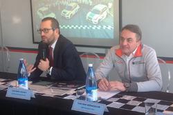 Vincenzo Vavalà, direttore marketing di Seat Italia, Tarcisio Bernasconi, responsabile delle attivi