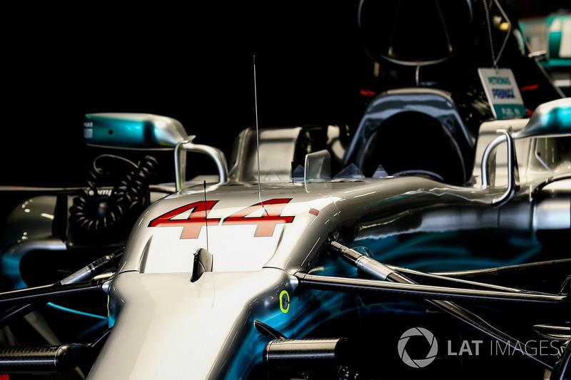 Автомобиль W08 Льюиса Хэмилтона, Mercedes-Benz F1