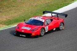 Ferrari 458 GT3 #74 MP1 Corse: Benucci-Niboli