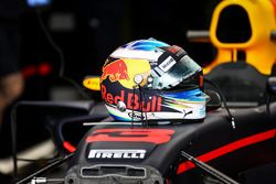 Шлем гонщика Red Bull Racing Даниэля Риккардо