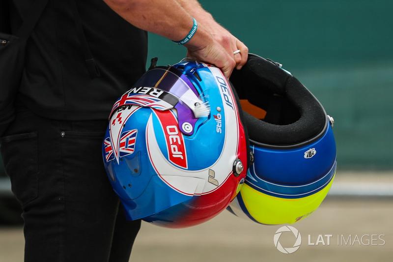 Kask, Jolyon Palmer, Renault Sport F1 Team