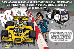 L'humeur de Cirebox - Un F1 Live à Paris?