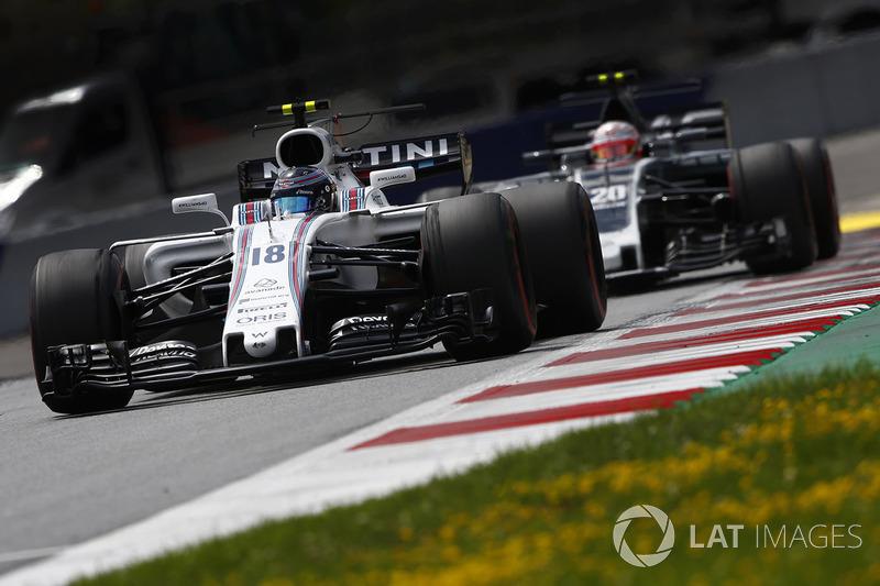 Ленс Стролл, Williams FW40, Кевін Магнуссен, Haas F1 Team VF-17