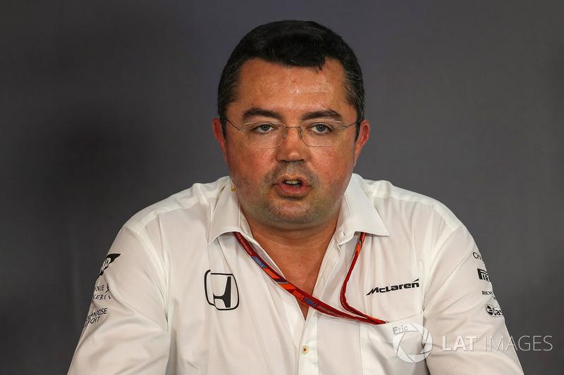 Ерік Бюльє, гоночний директор McLaren Racing