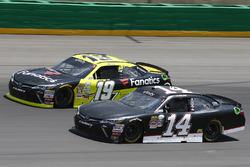 Matt Tifft, Joe Gibbs Racing Toyota, J.J. Yeley, TriStar Motorsports Toyota