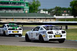 #00 TA4 Ford Mustang, James Pesek, PF/Rennsport KC Racing, #10 TA4 Ford Mustang, JR Pesek, PF/Rennsport KC Racing