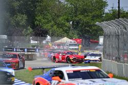 #72 TA2 Chevrolet Camaro, Shane Lewis, Robinson Racing, #19 TA2 Chevrolet Camaro, Cameron Lawrence,
