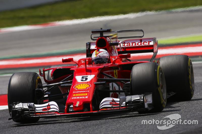 2 місце — Себастьян Феттель (Німеччина, Ferrari) — коефіцієнт 2,37