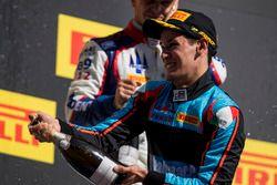 Podium: derde plaats Alessio Lorandi, Jenzer Motorsport