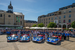 Ford Chip Ganassi Racing team photo