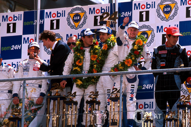 1998: Laurent Aiello, Allan McNish, Stéphane Ortelli