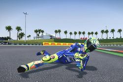 Sturz: Valentino Rossi