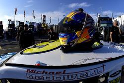 Helm von Michael McDowell, Leavine Family Racing Chevrolet
