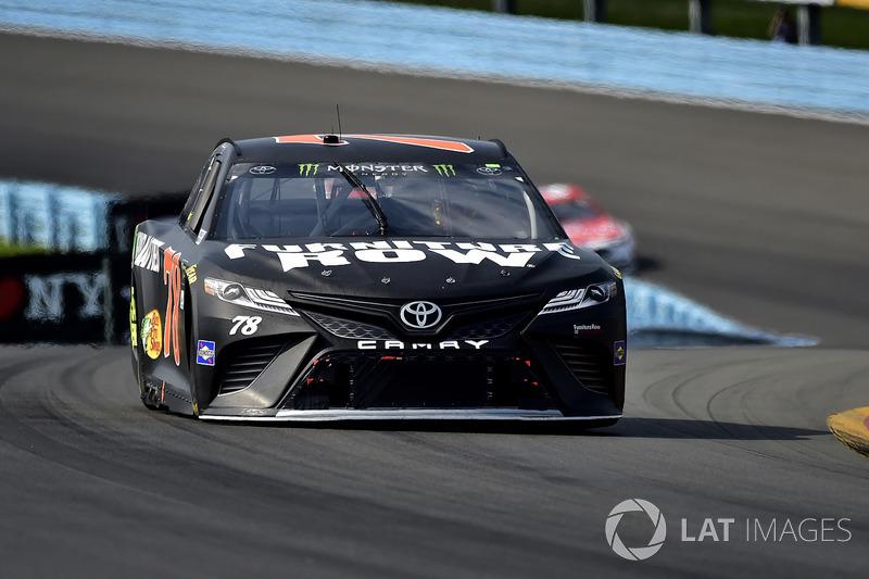 Martin Truex Jr Furniture Row Racing Toyota At Watkins Glen