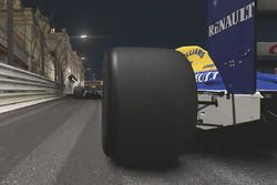 Classic Williams at Monaco by night