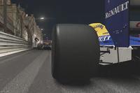 Clásico Williams en Mónaco por la noche