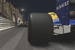 Classic Williams at Monaco by night