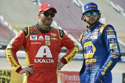 Chase Elliott, Hendrick Motorsports Chevrolet, Dale Earnhardt Jr., Hendrick Motorsports Chevrolet