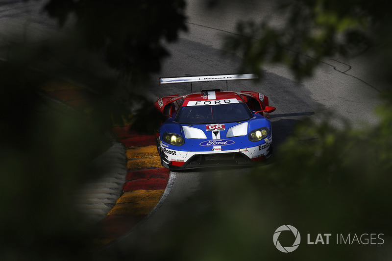 #66 Chip Ganassi Racing Ford GT: Дірк Мюллер, Джоі Хенд