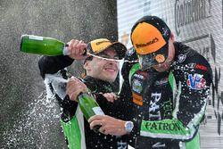 Podium: winners Pipo Derani, Johannes van Overbeek, Tequila Patron ESM