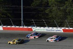 Michael McDowell, Leavine Family Racing Chevrolet, Danica Patrick, Stewart-Haas Racing Ford, Ryan Bl