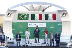 Podium: 1. Luca Ghiotto, RUSSIAN TIME; 2. Sergio Sette Camara, MP Motorsport; 3. Antonio Fuoco, PREMA Powerteam