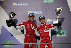 Podyum GTE Pro: #71 AF Corse Ferrari 488 GTE: Davide Rigon, Sam Bird