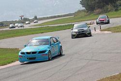 #15 Borusan Otomotiv Motorsport, Ali Türkkan, BMW 320si, #19 Çağlayan Çelik, Seat Leon TCR, Toksport