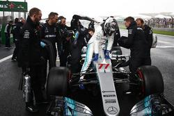 Startaufstellung: Valtteri Bottas, Mercedes AMG